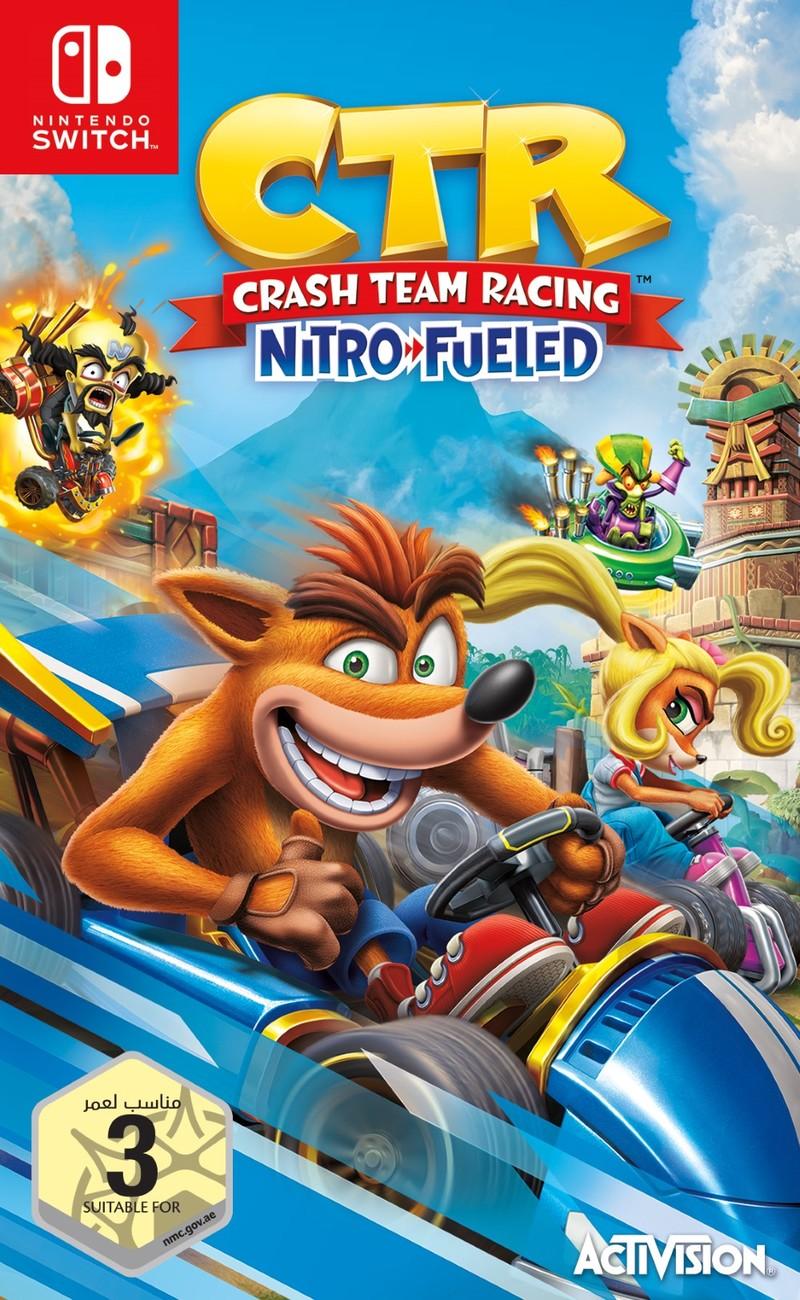 Resultado de imagem para Crash Team Racing Nitro Fueled