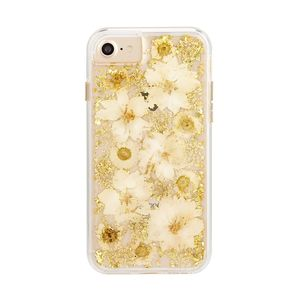 Case-Mate Karat Petals Case Antique White for iPhone SE [2nd Gen]