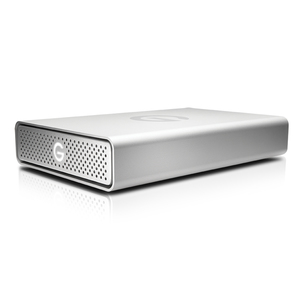 G-TECHNOLOGY G-DRIVE USB G1 8TB SILVER EXTERNAL HARD DISK