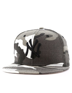 New Era League Essential NY Yankees Camo Urban Camo/Black Cap