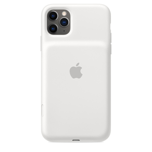 Apple Smart Battery Case with Wireless Charging White for iPhone 11 Pro Max