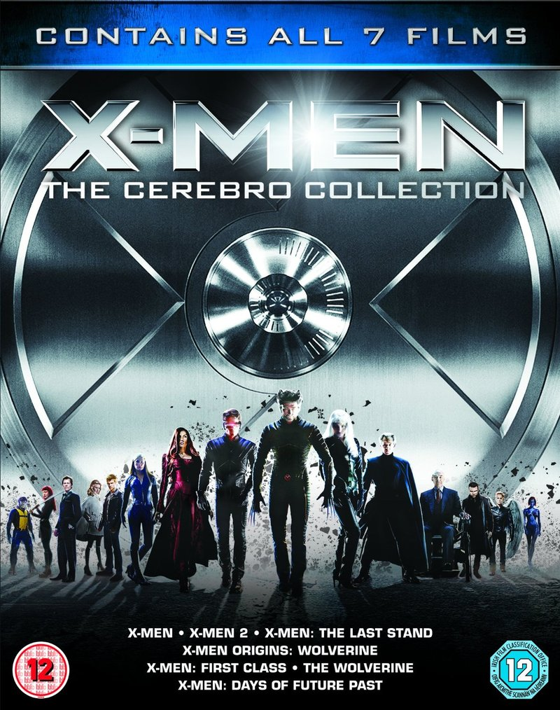 X-Men: The Cerebro Collection [7 Disc Set]