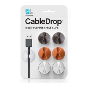 Bluelounge Cabledrop Muted Colors [6 Pack]