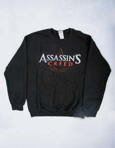 Assassin's Creed Film Logo Black Crew Sweater