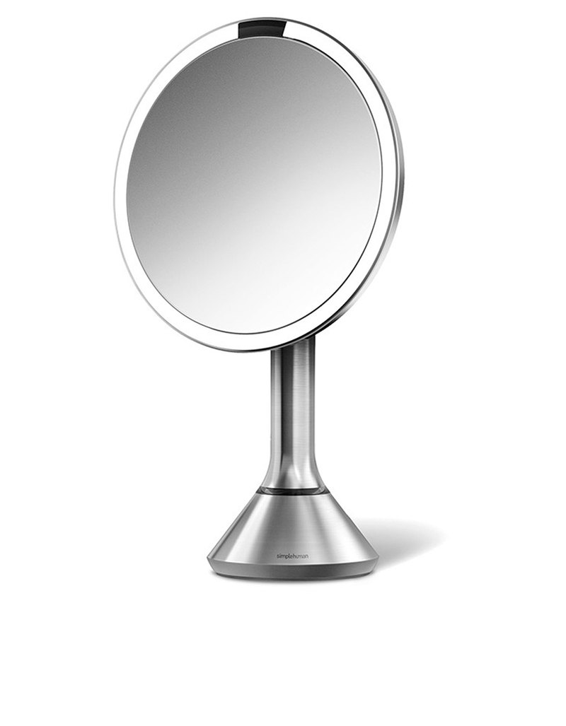 Sensor lighted makeup vanity mirror mirrors for Mirror warehouse near me
