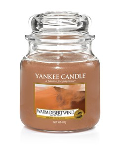 Yankee Candle Classic Jar Warm Desert Wind [Medium]