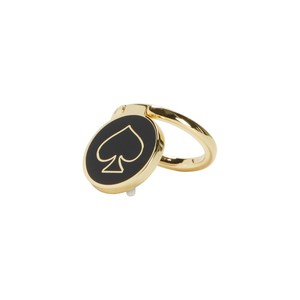 Kate Spade NY Stability Ring Gold/Black Enamel for Smartphones