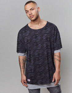 Cayler & Sons BL Deuces Long Layer BLack Men T-Shirt
