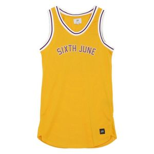 Sixth June Short Sleeved Dress Yellow S