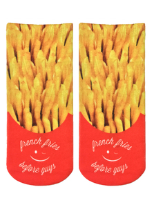 Living Royal Fries Before Guys Women's Ankle Socks