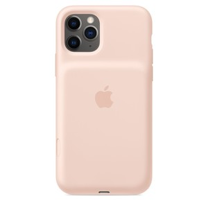 Apple Smart Battery Case with Wireless Charging Pink Sand for iPhone 11 Pro