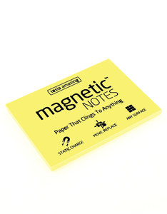 Magnetic Notes Yellow M