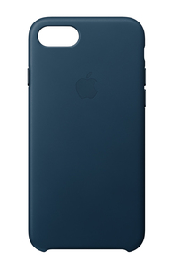 Apple Leather Case Cosmos Blue for iPhone 8/7