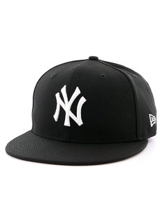 New Era Diamond Era Ess NY Yankees Black/White Cap