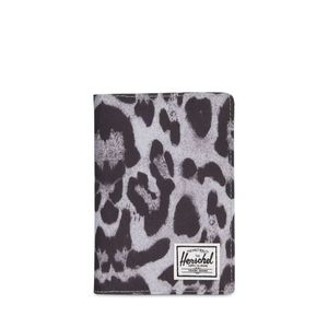 Herschel Raynor Passport Holder RFID Snow Leopard