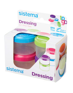 Sistema Pots To-Go [Set of 4]
