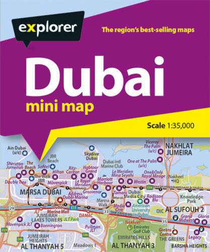 Explorer Dubai Mini Map
