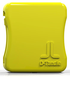 D-Tangle Yellow Cable Management