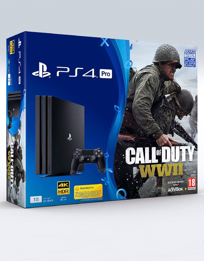 sony ps4 pro 1tb 7016b jet black call of duty wii. Black Bedroom Furniture Sets. Home Design Ideas
