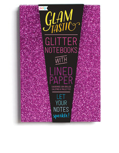 Ooly Glamtastic Glitter Notebooks Pink [Set of 3]