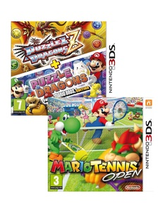 Puzzle & Dragons +Mario Tennis Open [Bundle]