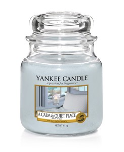 Yankee Candle Classic Jar Calm & Quiet Place [Medium]