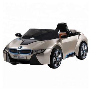 Bmw I8 Electric Ride-On Car Painted Champagne