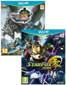 Monster Hunter 3 Ultimate + Star Fox Zero [Bundle]