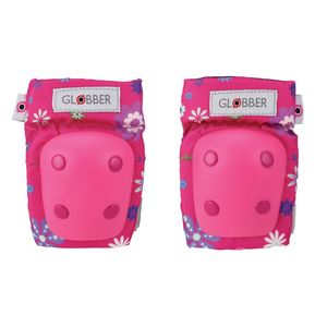 Globber Toddler Pads Flowers Pink