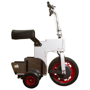 Acton M Electronic White Scooter