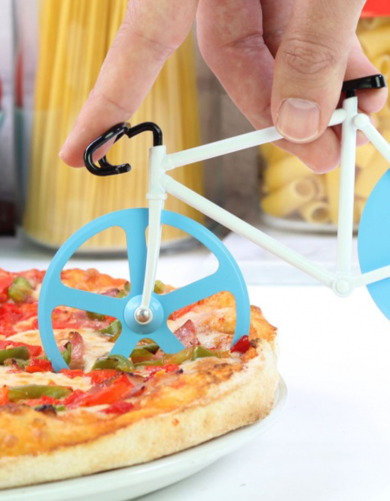 DOIY Design Fixie Pizza Cutter Antartic