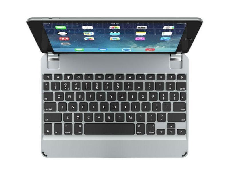 Brydge Aluminium Bluetooth Keyboard Space Grey for iPad [5th Gen]