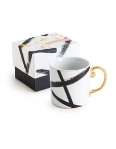 Rosanna Mug Anything Goes Zig Zag White Mug