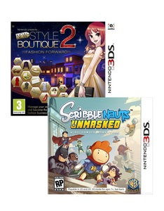 New Style Boutique 2 +Scribblenauts [Bundle]