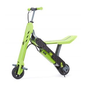 Viro Rides Vega 2-in-1 Electric Scooter & Mini Bike Green