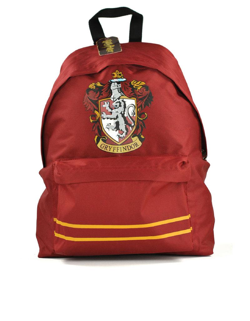 Harry Potter Book Bag : Harry potter gryffindor crest rucksack backpack