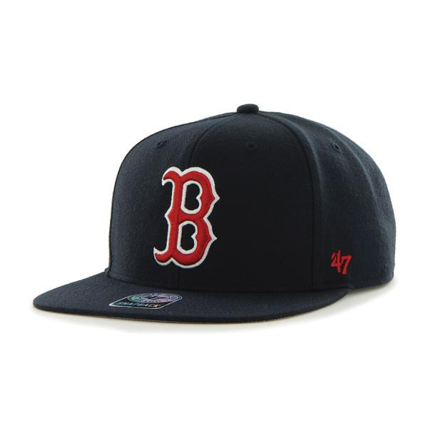 47 Brand Sure Shot 47 Captain Boston Red Sox Navy Baseball Cap