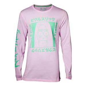 Rick and Morty Japan Pickle Men's T-Shirt Pink