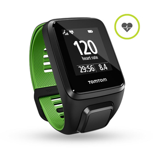 TomTom Runner 3 Black/Green Small GPS Watch