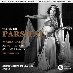 WAGNER: PARSIFAL (ROMA 20-21/11/1950)