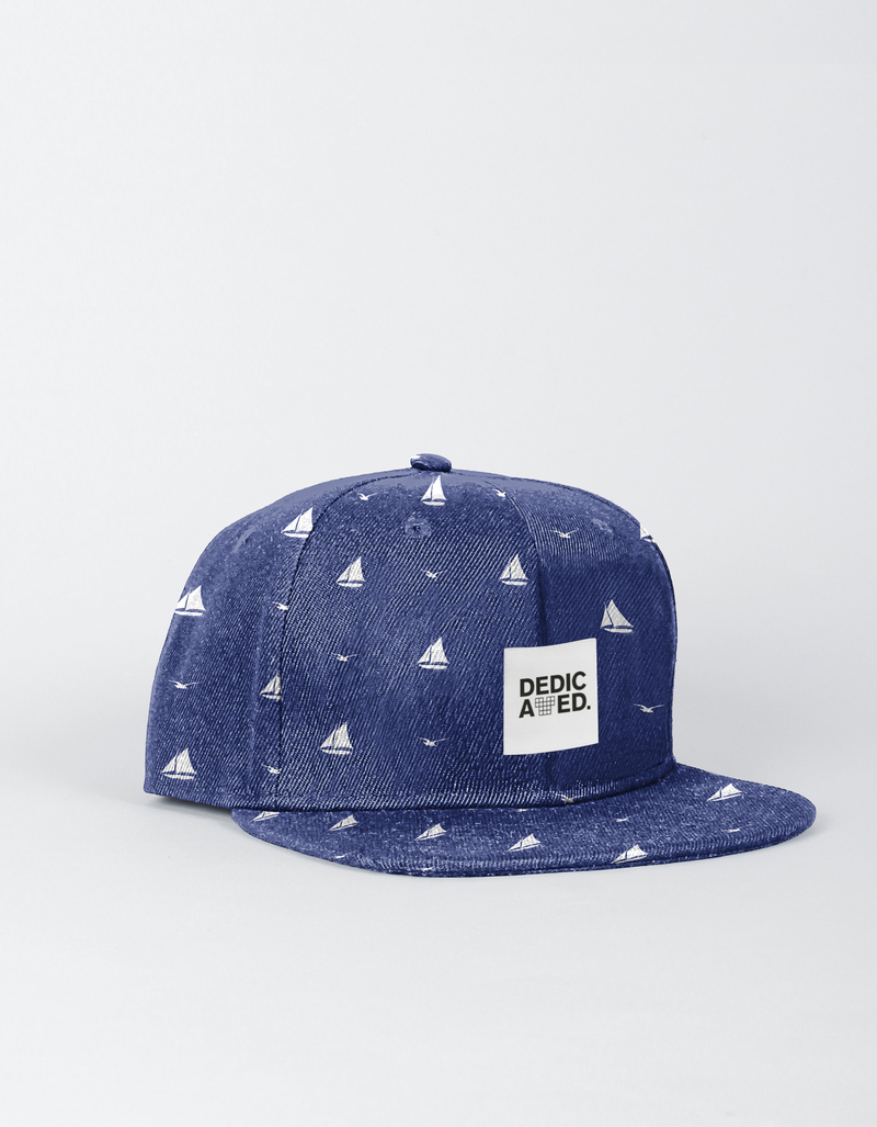 Dedicated Snapback Sailboats Blue Cap