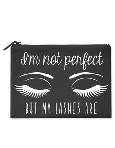 Savethepeople Im Not Perfect But My Lashes Make-Up Bag