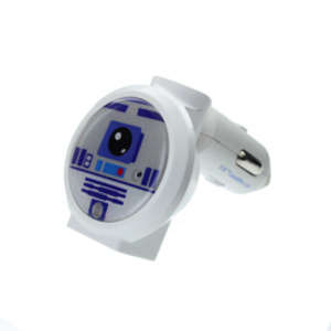 Star Wars R2D2 Light Up Car Charger