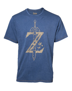 Difuzed Zelda Faux Denim Multicolor Men's T-Shirt