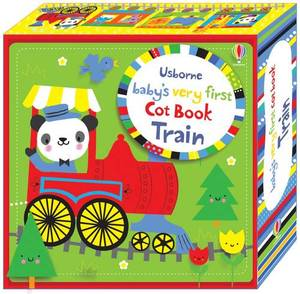 Baby's Very First Cot Book Train