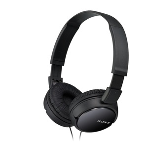 Sony MDR-ZX110 Black On Ear Headphones