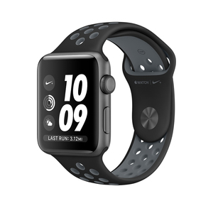 Apple Watch Nike+ 38mm Sport Band Black/Cool Grey Space Grey Aluminium Case