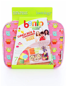 Bentology Owl Complete Lunch Box Set