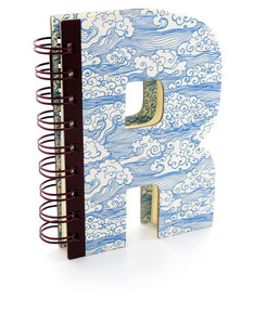 Alpha Note Books Mini Letter R