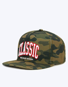 Cayler & Sons BL Worldwide Classic Woodland Camo/White Cap